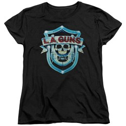 La Guns - Womens La Guns Shield T-Shirt