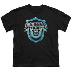 La Guns - Big Boys La Guns Shield T-Shirt