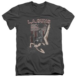 La Guns - Mens From Hollywood V-Neck T-Shirt