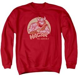 Hagar The Horrible - Mens Hagar Circle Sweater