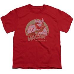 Hagar The Horrible - Big Boys Hagar Circle T-Shirt
