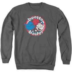 Beetle Bailey - Mens Red White And Bailey Sweater