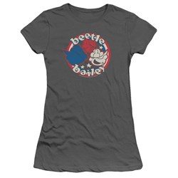 Beetle Bailey - Juniors Red White And Bailey T-Shirt