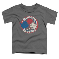 Beetle Bailey - Toddlers Red White And Bailey T-Shirt