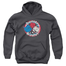 Beetle Bailey - Youth Red White And Bailey Pullover Hoodie