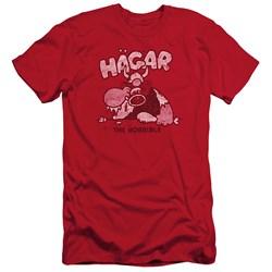 Hagar The Horrible - Mens Hagar Gulp Slim Fit T-Shirt
