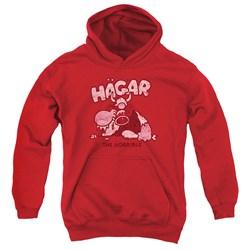 Hagar The Horrible - Youth Hagar Gulp Pullover Hoodie