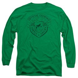 Beetle Bailey - Mens Official Badge Long Sleeve T-Shirt