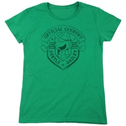 Beetle Bailey - Womens Official Badge T-Shirt