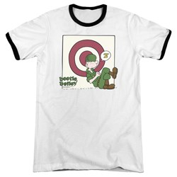 Beetle Bailey - Mens Target Nap Ringer T-Shirt