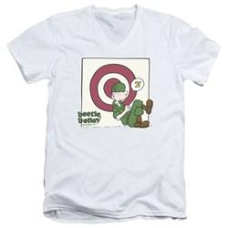 Beetle Bailey - Mens Target Nap V-Neck T-Shirt