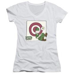 Beetle Bailey - Juniors Target Nap V-Neck T-Shirt