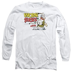 Hagar The Horrible - Mens Work Sucks Long Sleeve T-Shirt