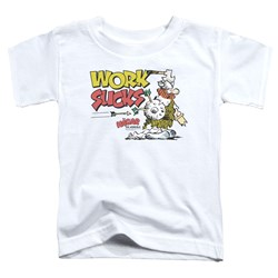 Hagar The Horrible - Toddlers Work Sucks T-Shirt