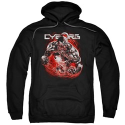 Justice League - Mens Engaged Pullover Hoodie