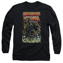 Justice League - Mens Swamp Thing Long Sleeve T-Shirt