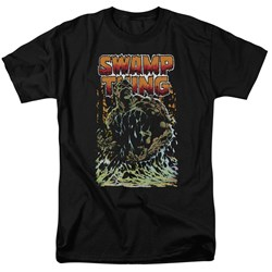 Justice League - Mens Swamp Thing T-Shirt