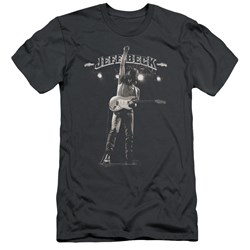 Jeff Beck - Mens Guitar God Premium Slim Fit T-Shirt