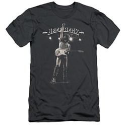 Jeff Beck - Mens Guitar God Premium Slim Fit T-Shirt