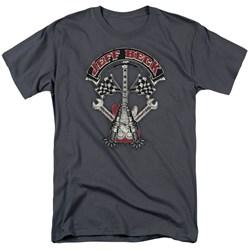 Jeff Beck - Mens Beckabilly Guitar T-Shirt