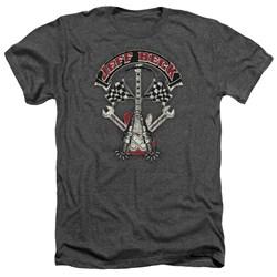 Jeff Beck - Mens Beckabilly Guitar Heather T-Shirt