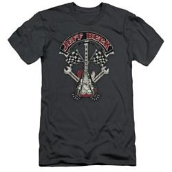Jeff Beck - Mens Beckabilly Guitar Slim Fit T-Shirt