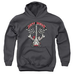 Jeff Beck - Youth Beckabilly Guitar Pullover Hoodie