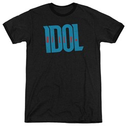 Billy Idol - Mens Logo Ringer T-Shirt