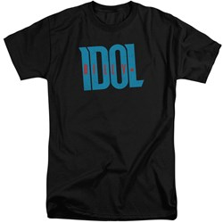 Billy Idol - Mens Logo Tall T-Shirt