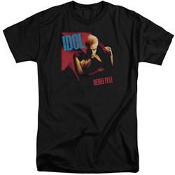 Billy Idol - Mens Rebel Yell Tall T-Shirt