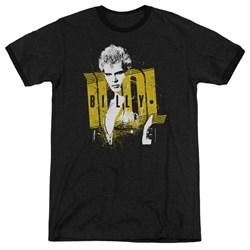 Billy Idol - Mens Brash Ringer T-Shirt