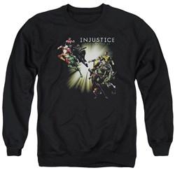 Injustice Gods Among Us - Mens Good Vs Evil Sweater