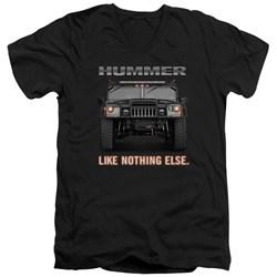 Hummer - Mens Like Nothing Else V-Neck T-Shirt