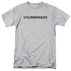 Hummer - Mens Distressed Hummer Logo T-Shirt