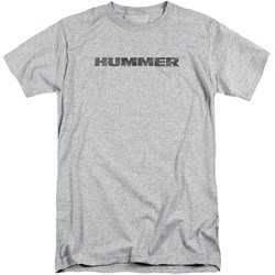 Hummer - Mens Distressed Hummer Logo Tall T-Shirt
