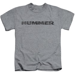 Hummer - Little Boys Distressed Hummer Logo T-Shirt