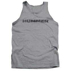 Hummer - Mens Distressed Hummer Logo Tank Top