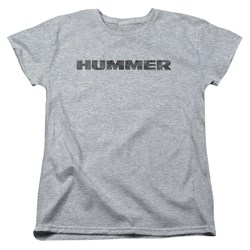 Hummer - Womens Distressed Hummer Logo T-Shirt