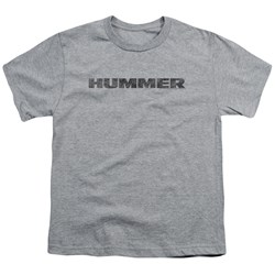 Hummer - Big Boys Distressed Hummer Logo T-Shirt