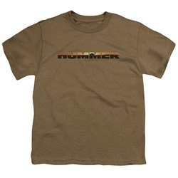 Hummer - Big Boys Hummer Sunset Logo T-Shirt