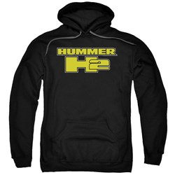 Hummer - Mens H2 Block Logo Pullover Hoodie