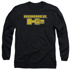 Hummer - Mens H2 Block Logo Long Sleeve T-Shirt
