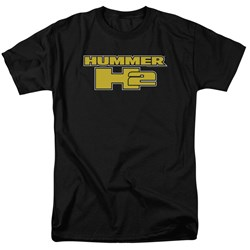 Hummer - Mens H2 Block Logo T-Shirt