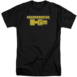 Hummer - Mens H2 Block Logo Tall T-Shirt