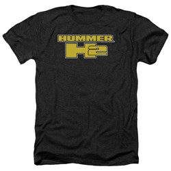 Hummer - Mens H2 Block Logo Heather T-Shirt