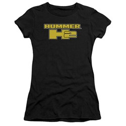 Hummer - Juniors H2 Block Logo T-Shirt
