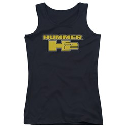 Hummer - Juniors H2 Block Logo Tank Top