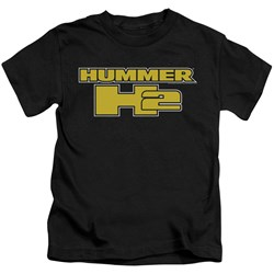 Hummer - Little Boys H2 Block Logo T-Shirt