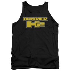 Hummer - Mens H2 Block Logo Tank Top