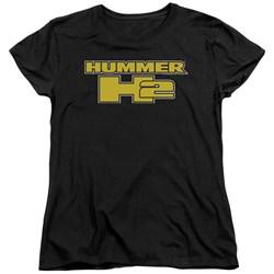 Hummer - Womens H2 Block Logo T-Shirt